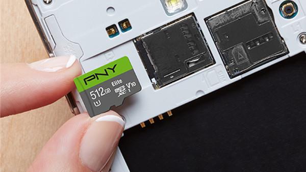 Elite microSDXC 512 GB: Das halbe Terabyte kostet bei PNY 350 US‑Dollar