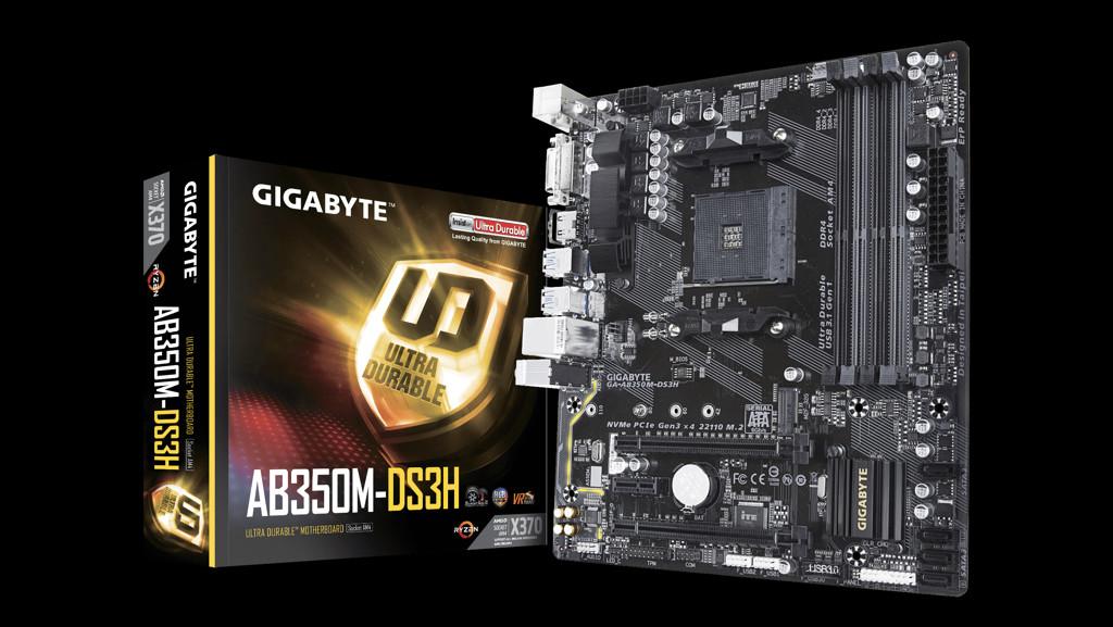 Kuriosität: GA-AB350M-DS3H mit Chipsatz X370 statt B350