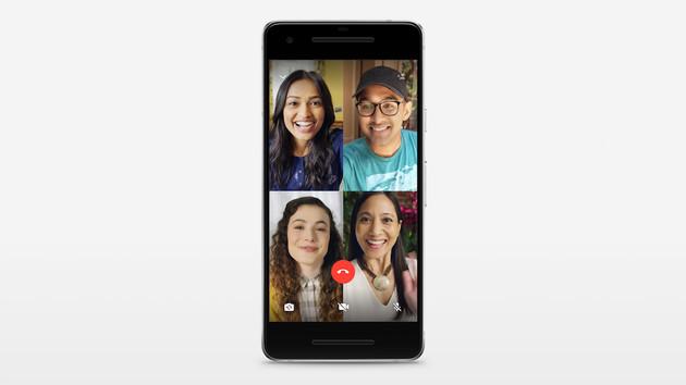 Bis zu 4 Teilnehmer: WhatsApp startet Gruppen-Videoanrufe weltweit