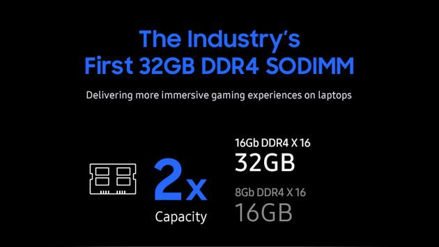 Samsung: 32-GByte-SO-DIMM für Gaming-Notebooks möglich