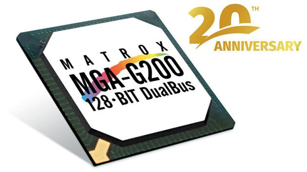 Matrox: Grafikchip G200 feiert 20-jährigen Geburtstag