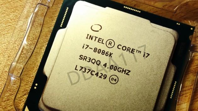 Intel Core i7-8086K: Ab 8. Juni mit bis zu 5 GHz für 50 Euro Aufpreis