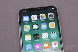Apples iPhone-X mit OLED-Display