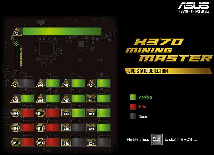 Asus H370 Mining Master
