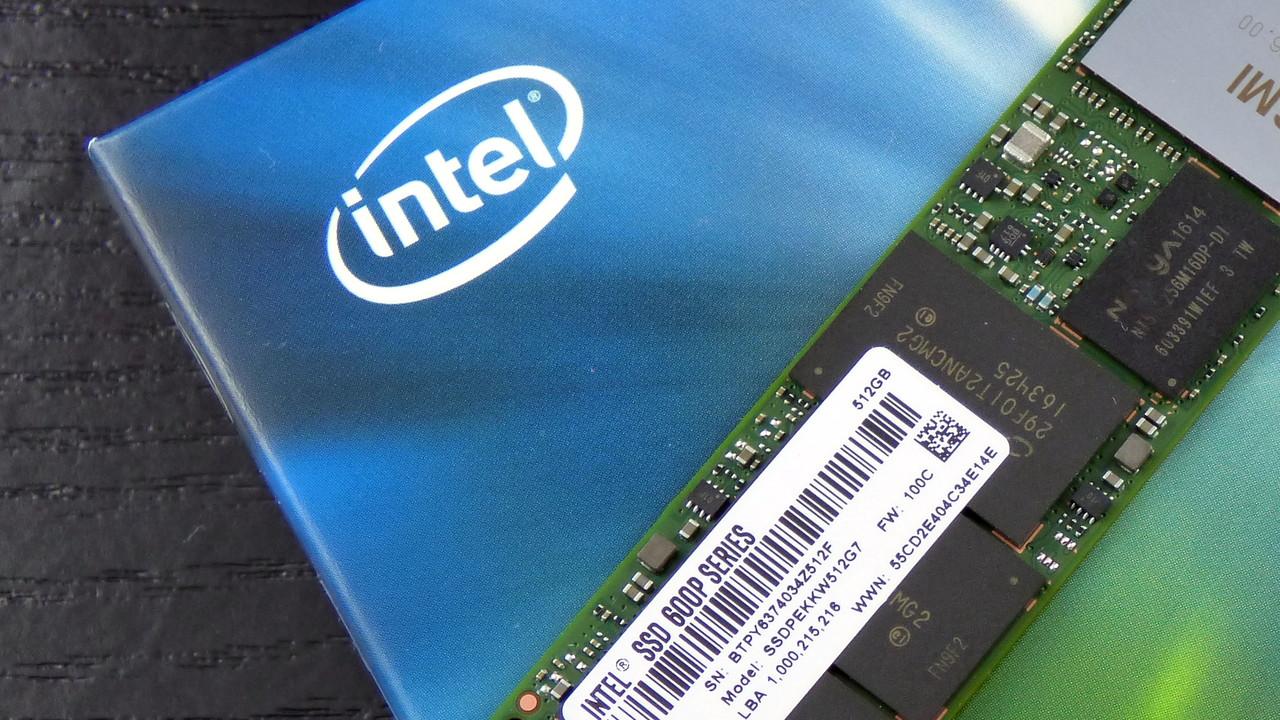 Massenspeicher: Intel plant 20-TB-SSD im 2,5-Zoll-Format mit QLC-Flash