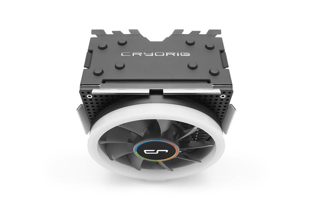 Cryorig H7 Ultra RGB: Prozessorkühler mit bunter Beleuchtung