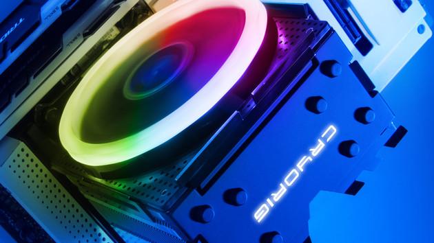 Cryorig H7 Ultra RGB & Crona: Neuer CPU-Kühler und Lüfter mit RGB-Beleuchtung