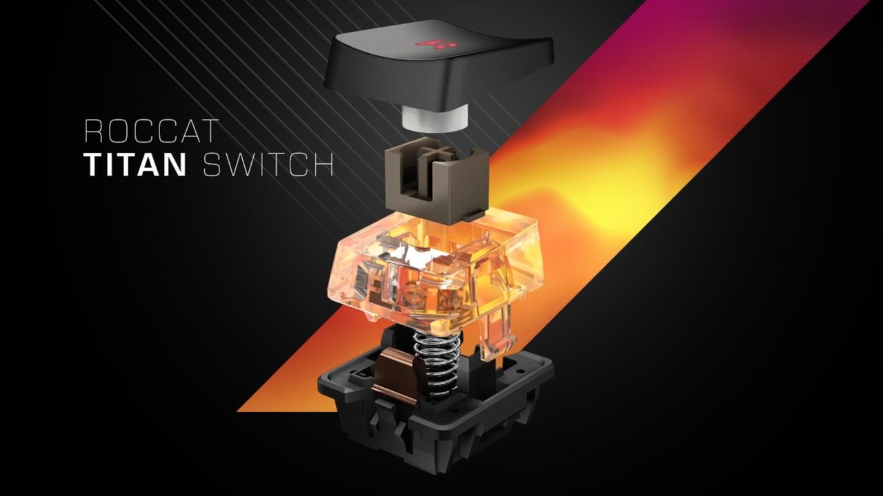 Titan Switch Tactile: Roccat stellt mechanischen Tastaturschalter vor