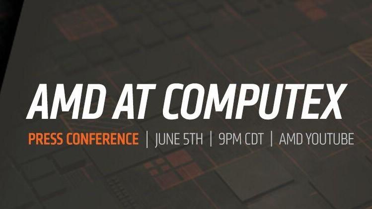 Computex 2018: Livestream zu AMDs Pressekonferenz am 6. Juni