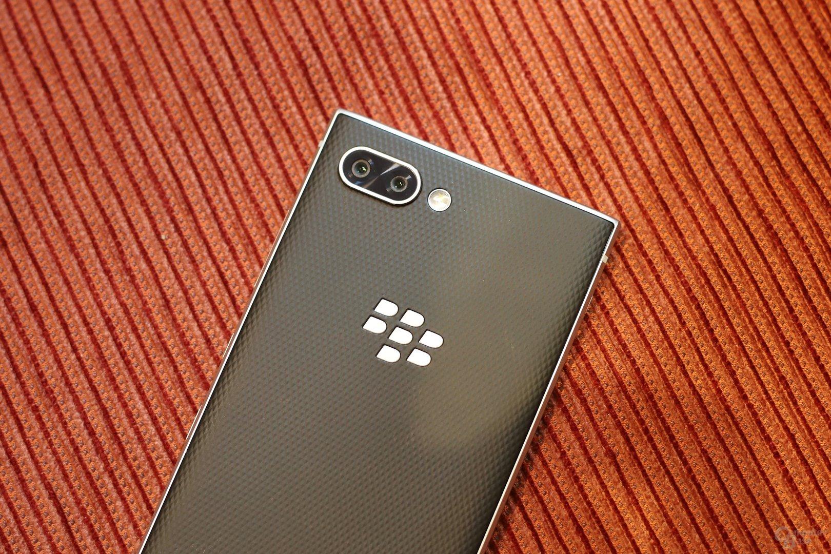 Erstmals in einem BlackBerry: eine Dual-Kamera