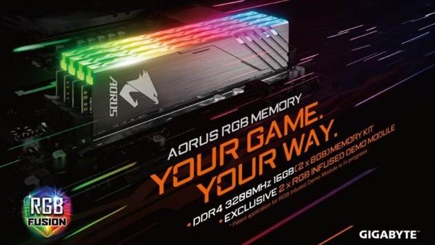 Gigabyte Aorus: RGB-Arbeitsspeicher zur Computex erwartet