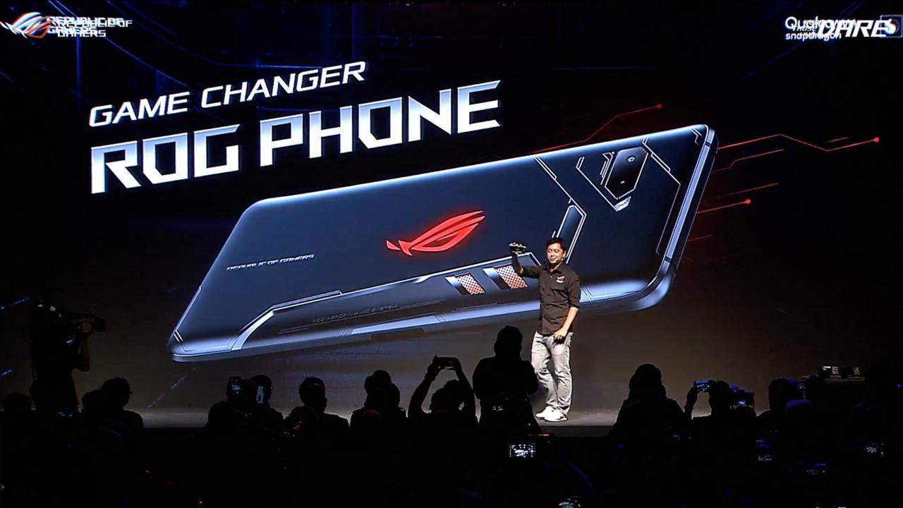 Asus ROG Phone: Mit Vapor Chamber, Lüfter-Option und 90-Hz-Display
