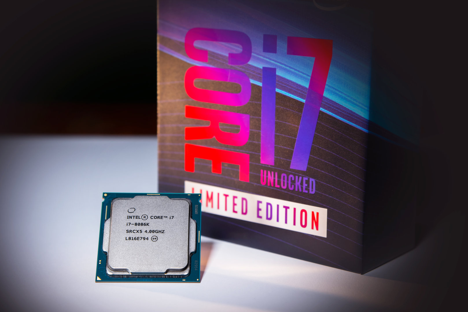 Intel Core i7-8086K Limited Edition