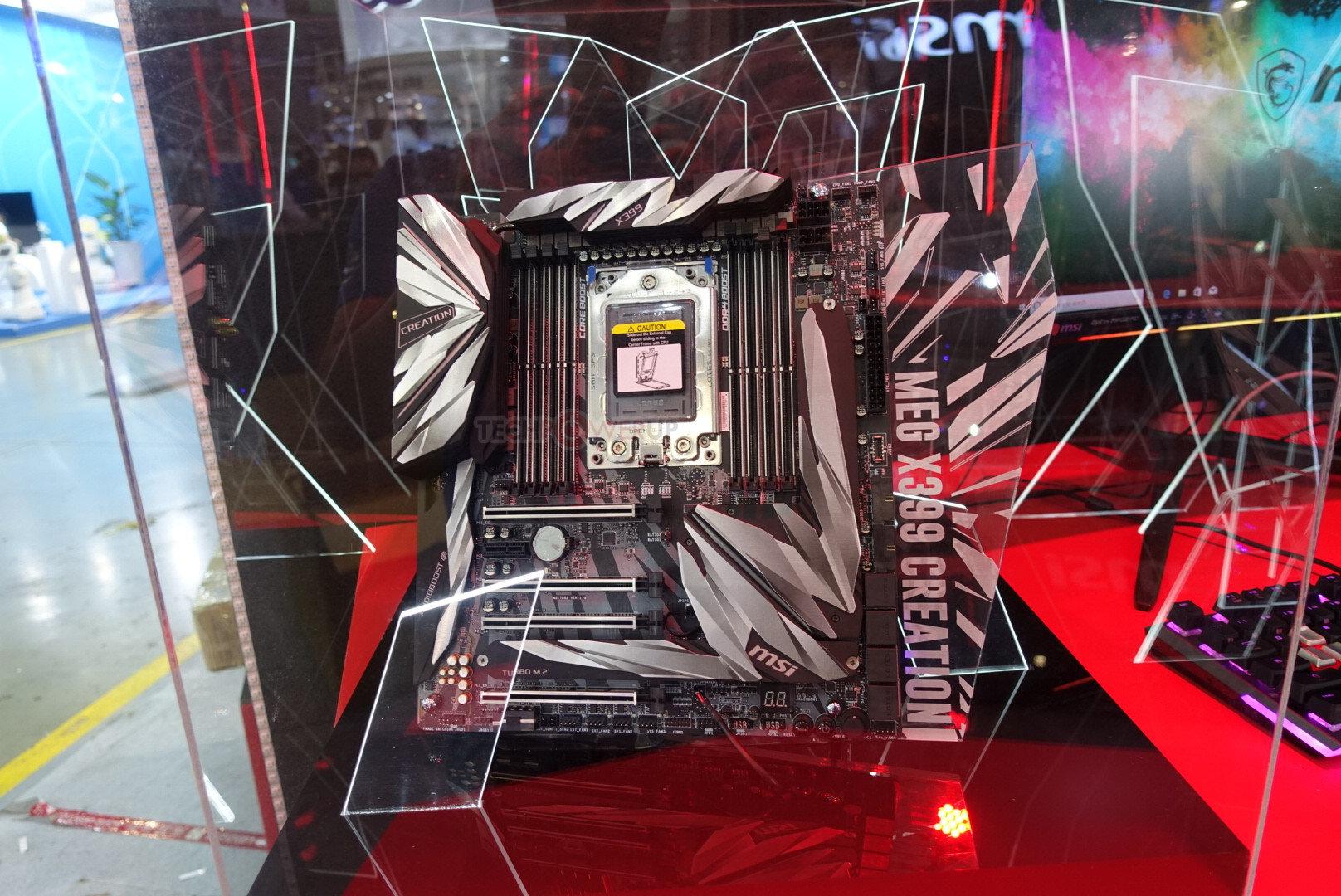 MSI MEG X399 Creation für AMD Threadripper