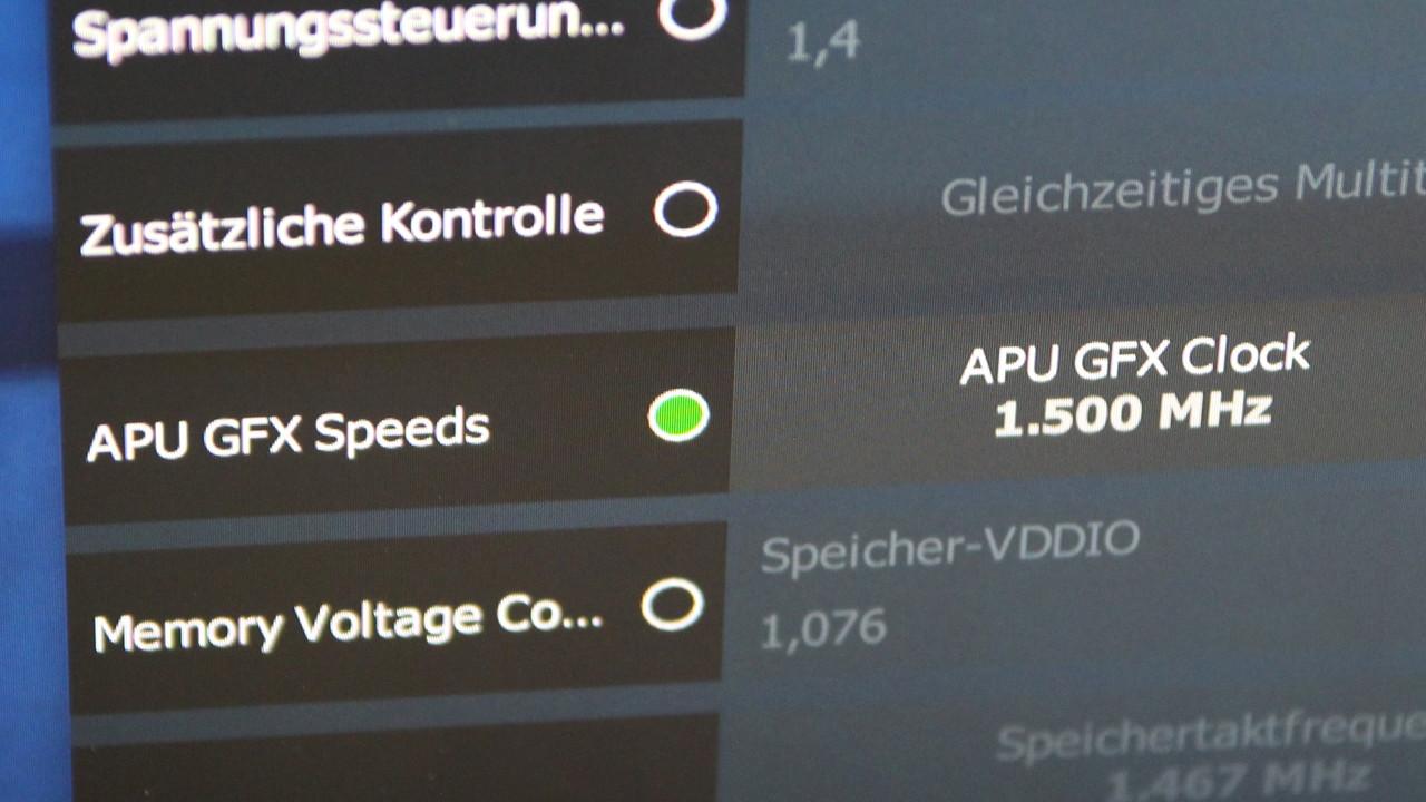 AMD Raven Ridge APU: Mehr Leistung in Spielen durch das Übertakten von Vega