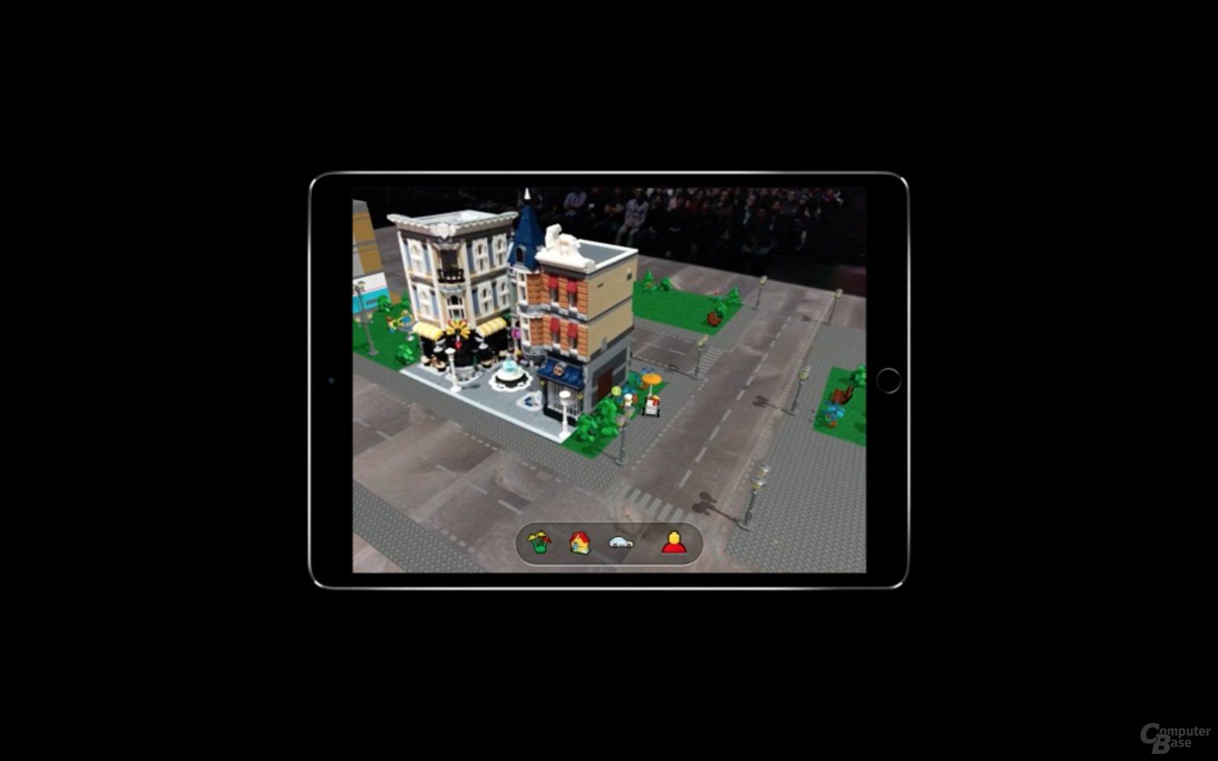 AR mit Lego-Modellen
