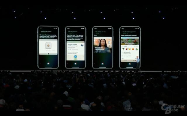 Siri Shortcuts binden Apps von Dritten besser ein