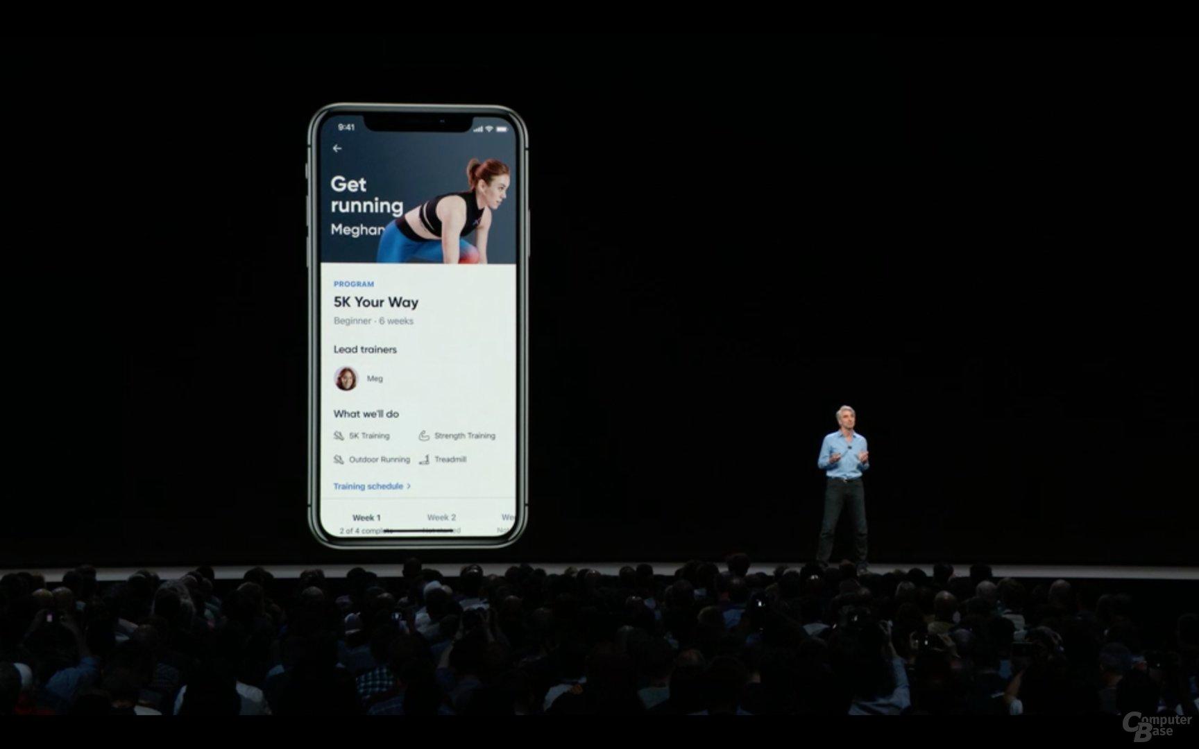 Siri schlägt wiederkehrende Aktivitäten in Apps vor