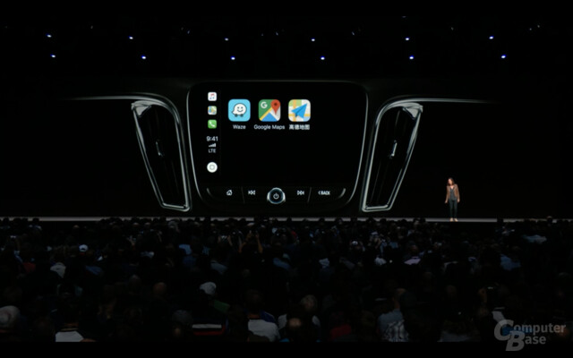 CarPlay in iOS 12 mit Third-Party-Navigations-Apps