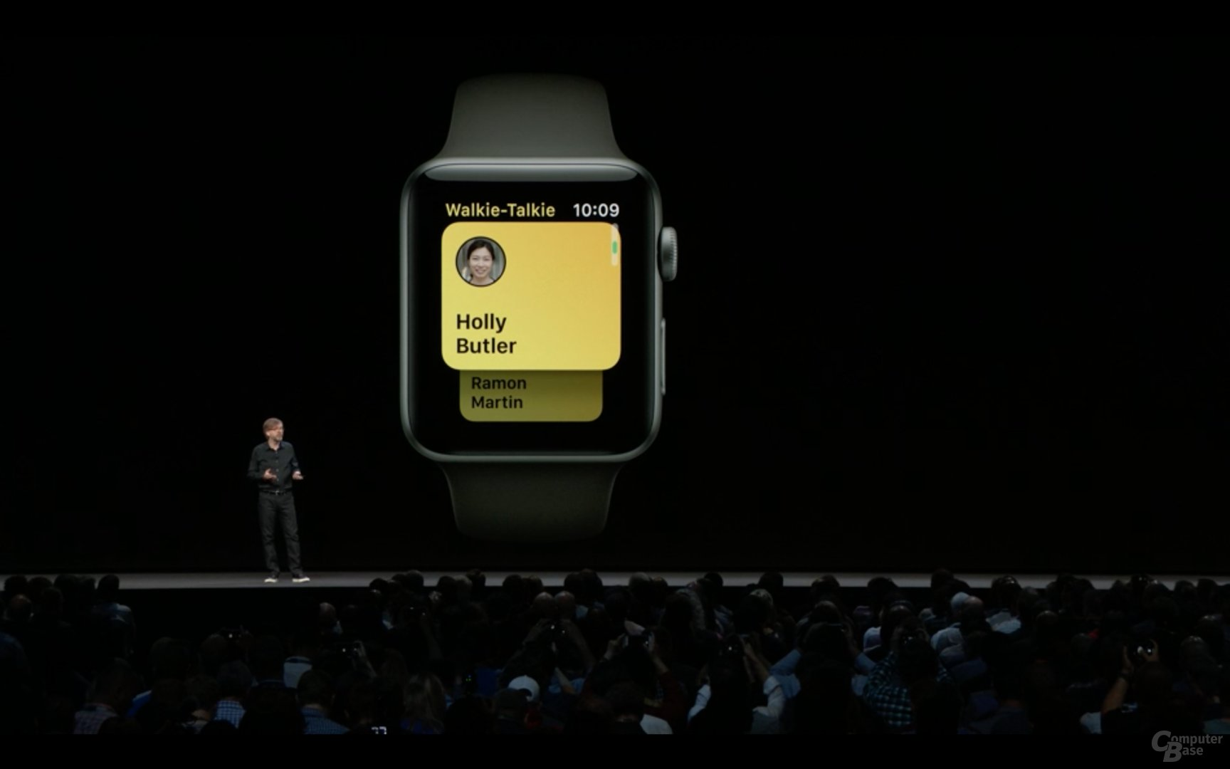 Walkie Talkie für Apple Watch