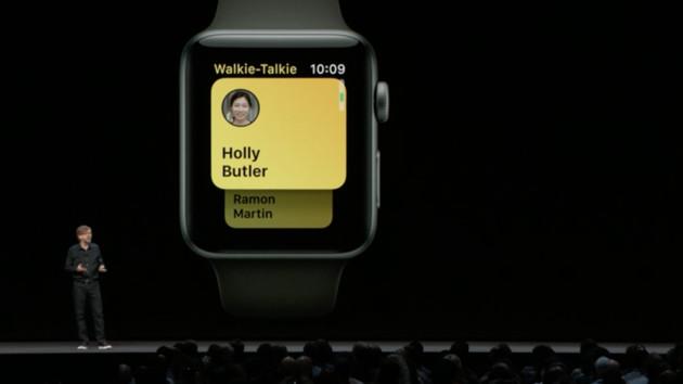 watchOS 5: Apple Podcasts und Walkie-Talkie-App für die Watch