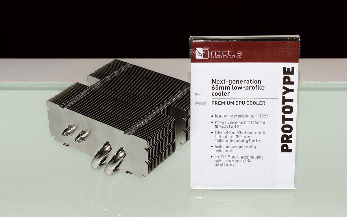 Prototyp des verbesserten Noctua NH-L9x65