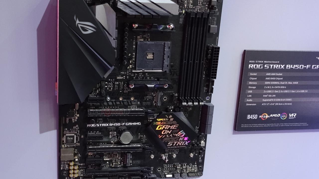 B450-Mainboards: AMDs Budget-Platinen für Ryzen 2000 gesichtet