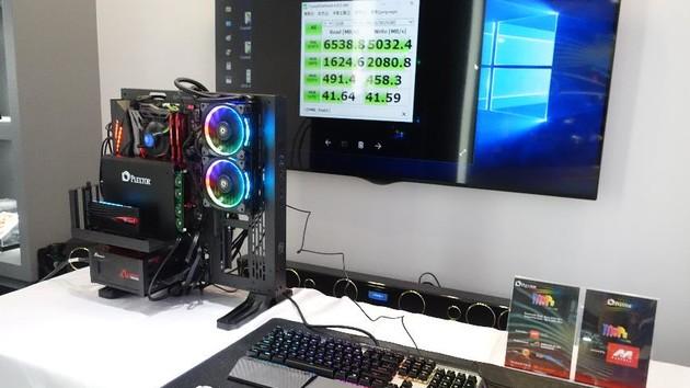 M9Pe Extreme: Plextor zeigt NVMe-RAID-SSD mit bis zu 6.500 MB/s
