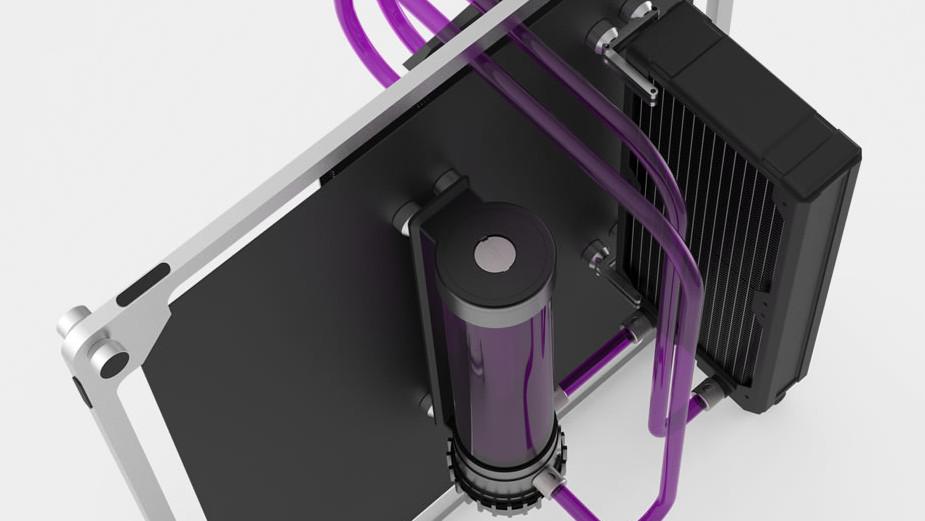 Streacom Canvas Case: Ein PC-Gehäuse, das keinem Formfaktor folgt
