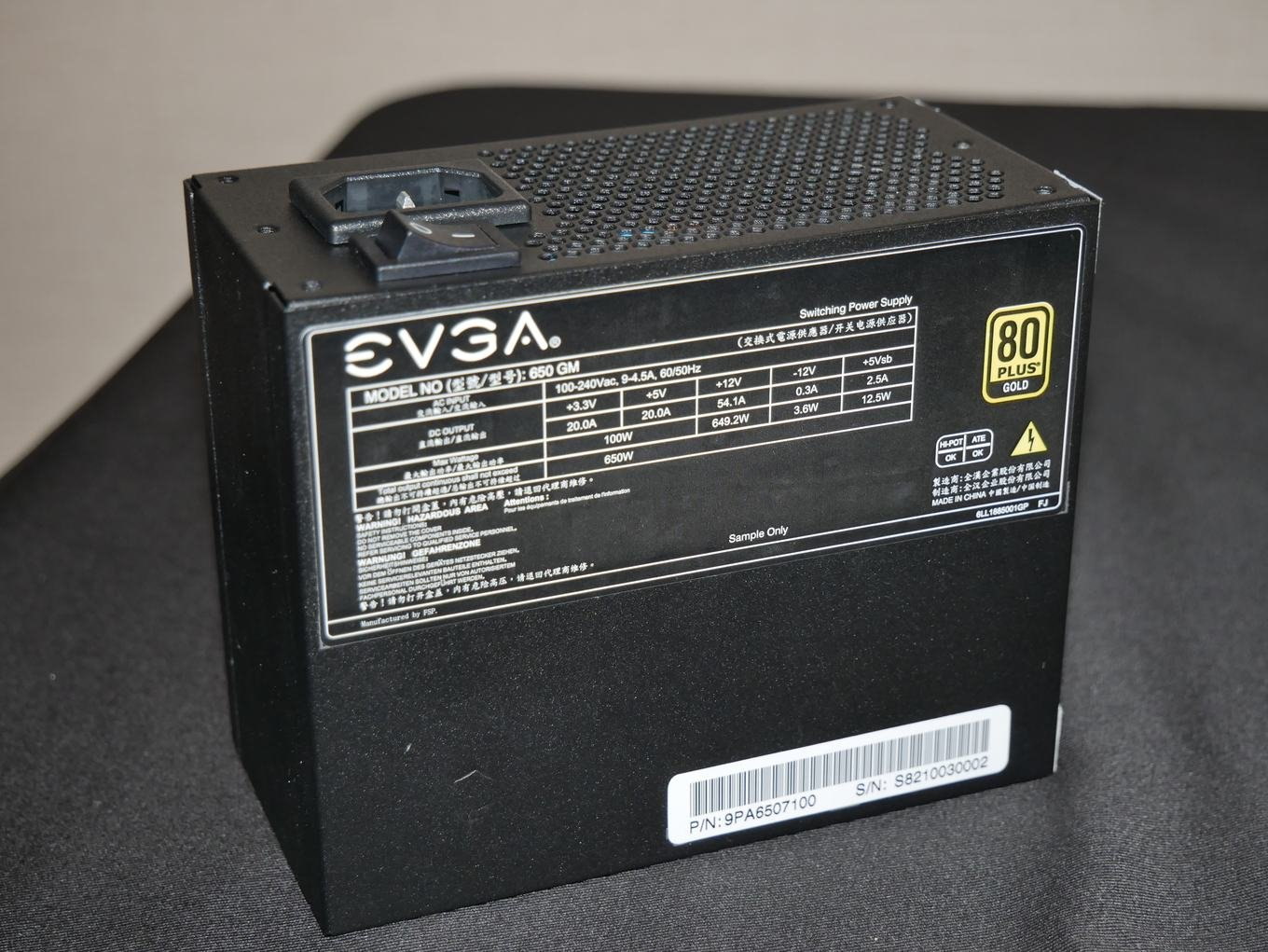 EVGA SuperNova 650W GM SFX