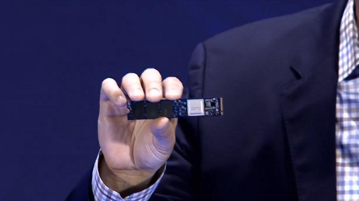 Intel Optane SSD 905P im M.2-Format