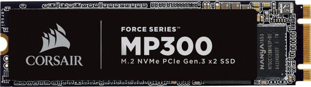 Corsair MP300 NVMe SSD