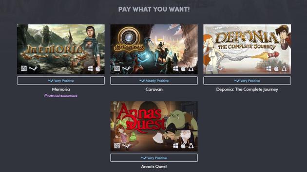 Humble Bundle: Vier Daedalic-Spiele zum beliebigen Preis
