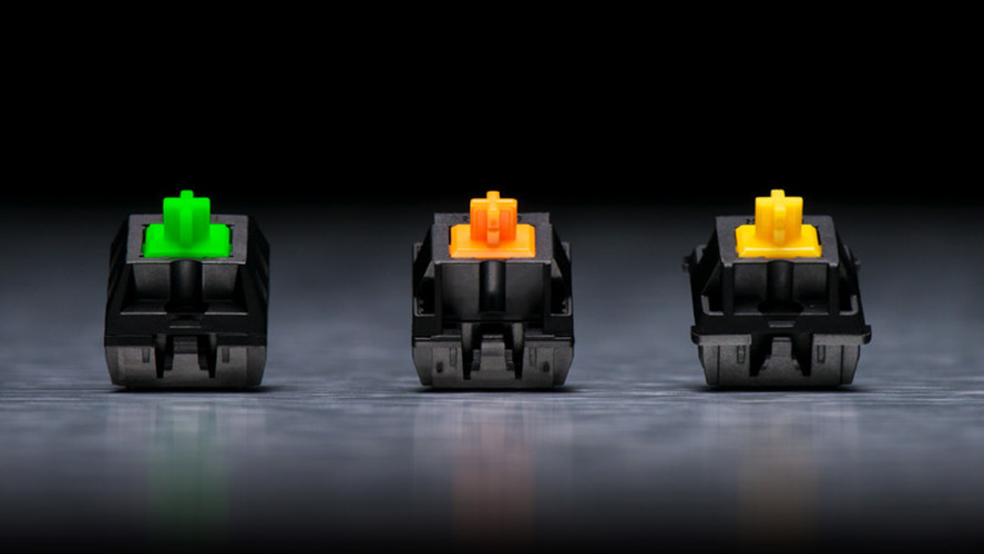 Razer Green, Orange, Yellow: Taster künftig einzeln und von anderen Herstellern