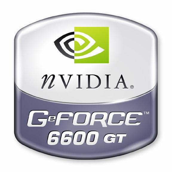 nVidia GeForce 6600 GT Logo