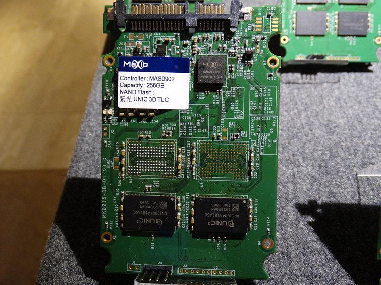 Maxiotek zeigt SSD mit UNIC-Speicher
