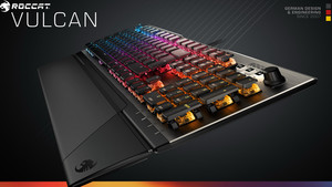 Roccat Vulcan-Serie: Mechanische Tastaturen mit Titan Switch Tactile