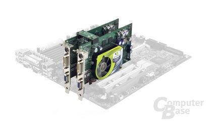 nVidia GeForce 6600 GT SLI-Modus