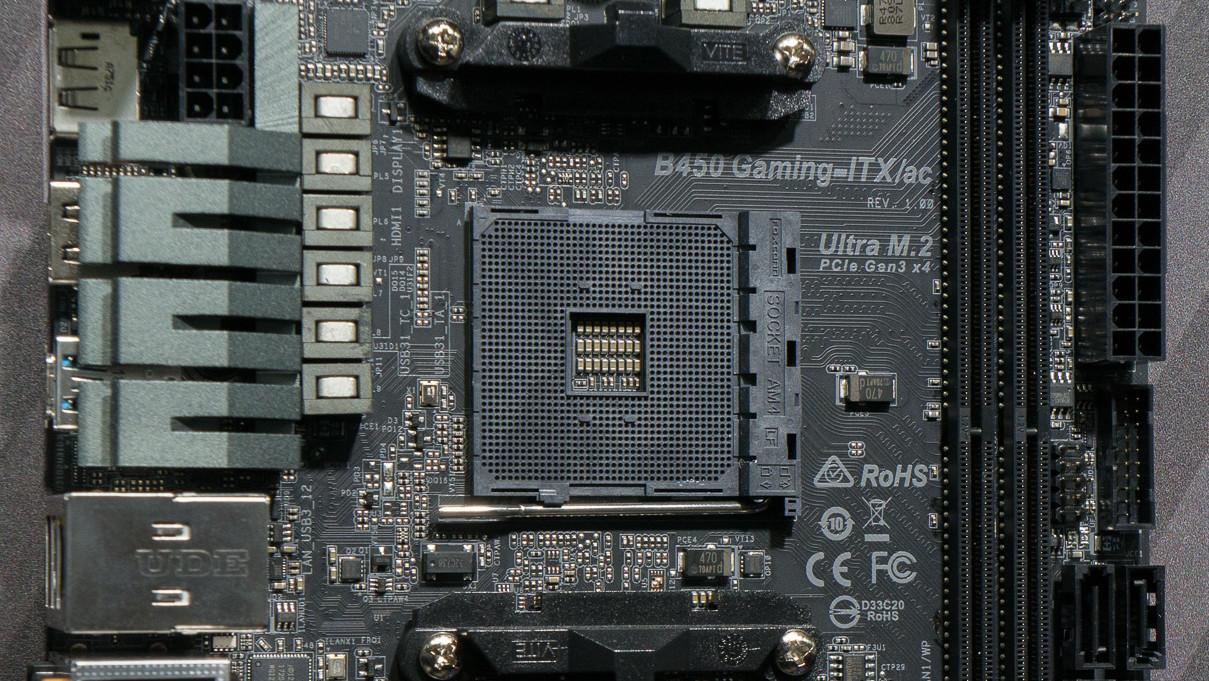 AMD-Mainboard: ASRock bringt B450-Chipsatz auch ins Mini-ITX-Format