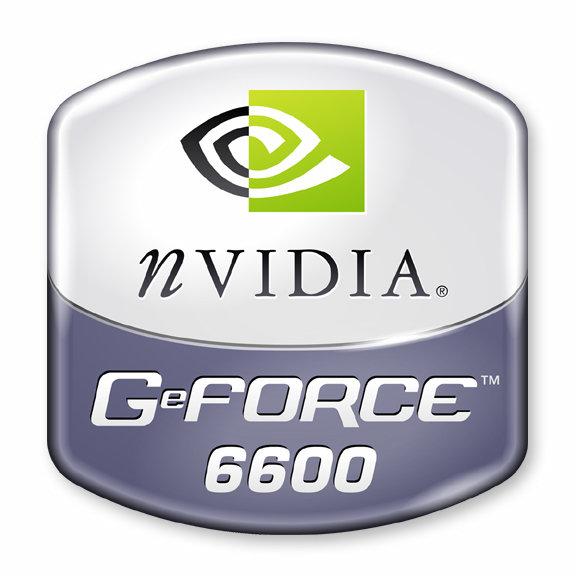 nVidia GeForce 6600 Logo