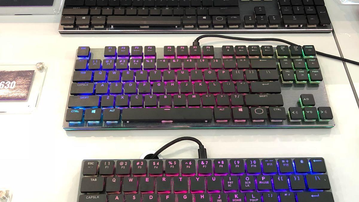 Cooler Master: Cherrys flache Taster für neue Kompakttastaturen