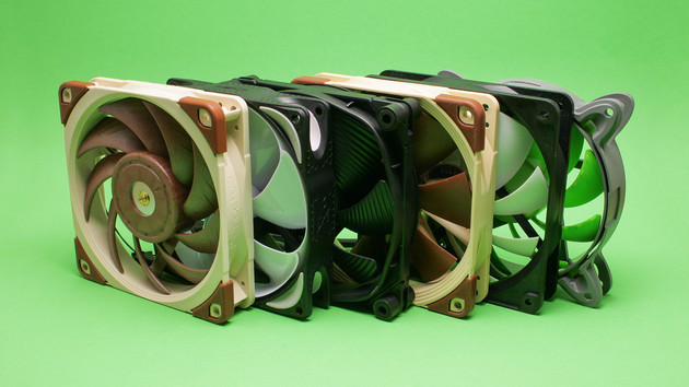 PC-Lüfter für Radiatoren im Test: Arctic vs. be quiet!, Nanoxia, Noctua und Noiseblocker