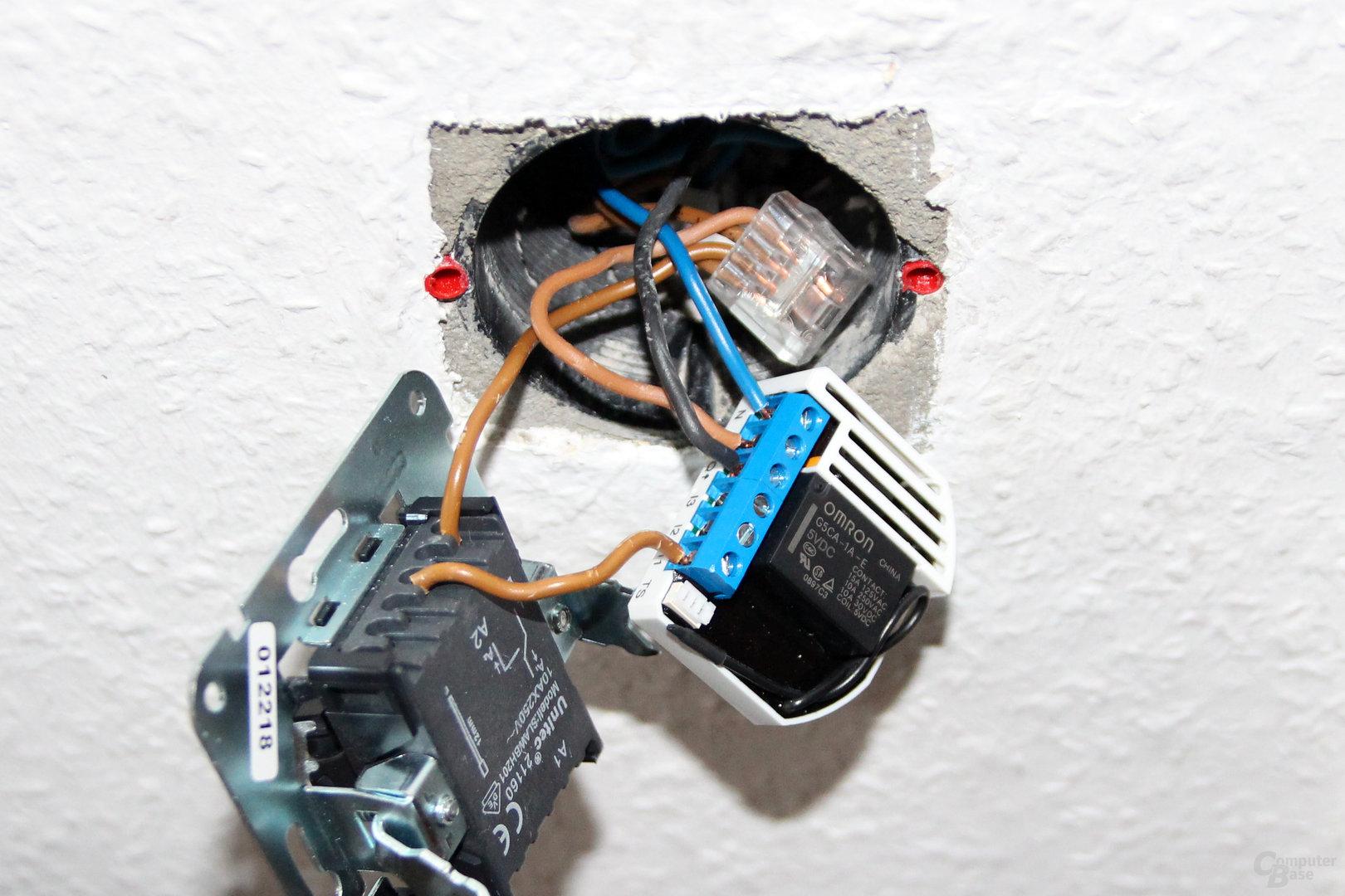 Installation mit Devolo Home Control Unterputz-Schalter (Bild 11/25 ...