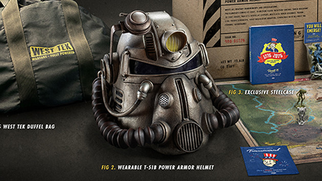Fallout 76: Collector's Edition für 200 Euro mit T-51b-Helm