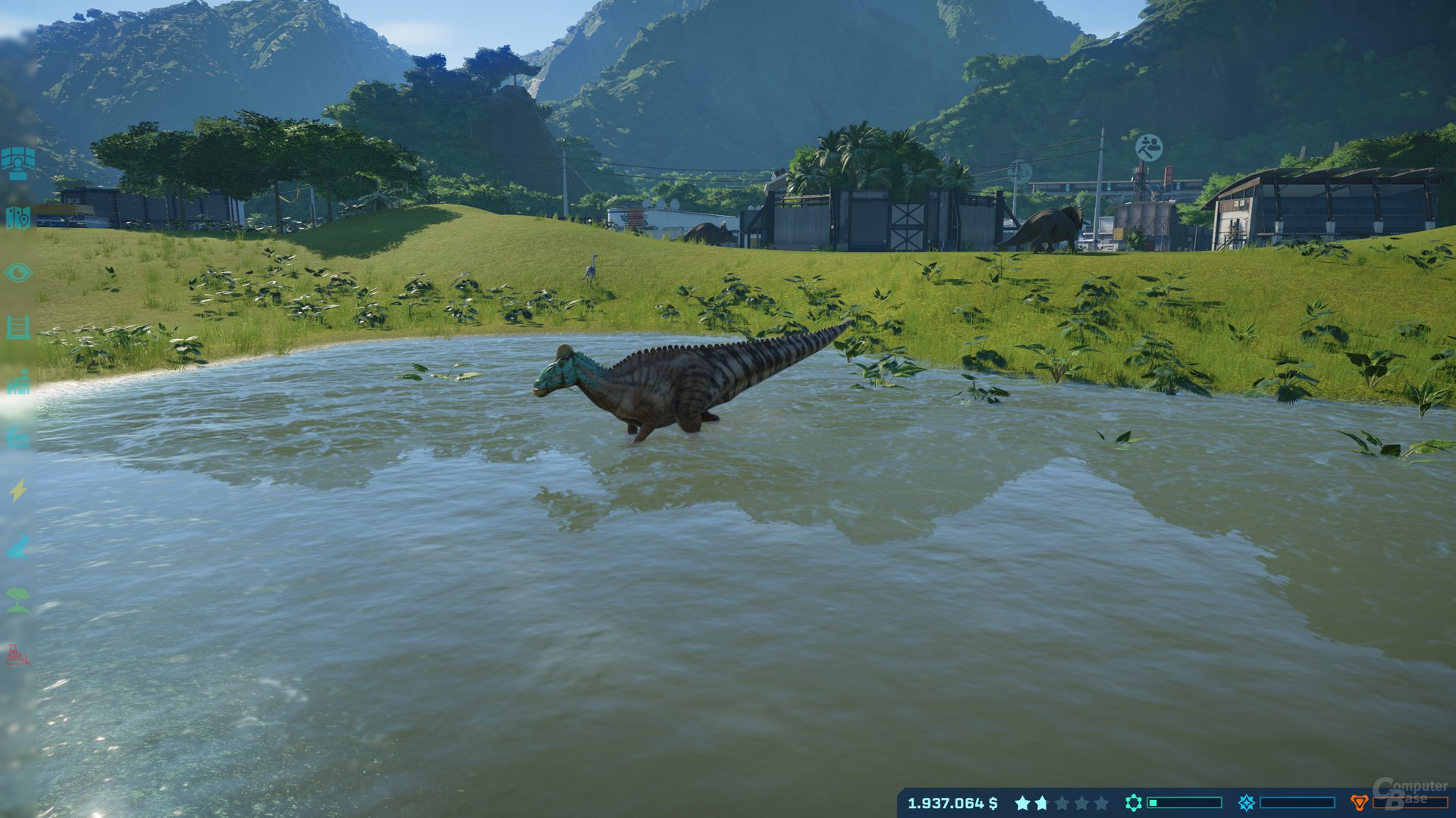 Jurassic World Evolution im Technik-Test
