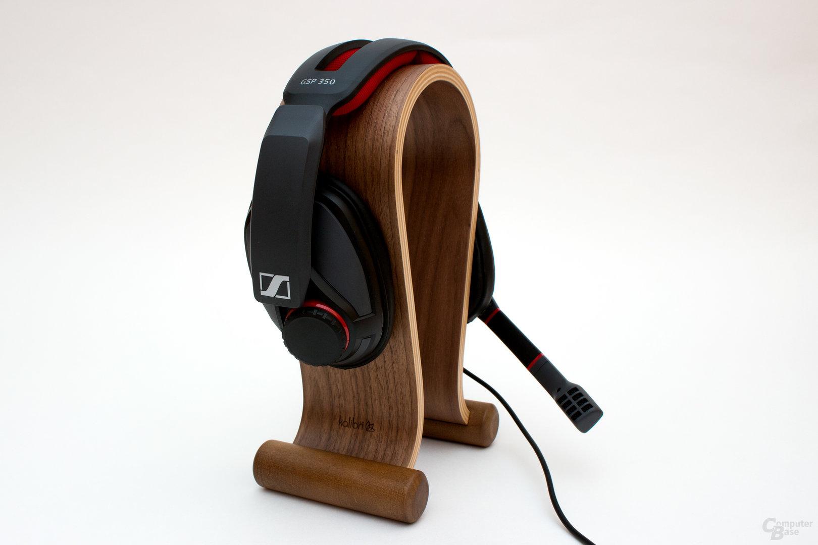 Das Mikrofon des Sennheiser GSP 350 kann nicht überzeugen
