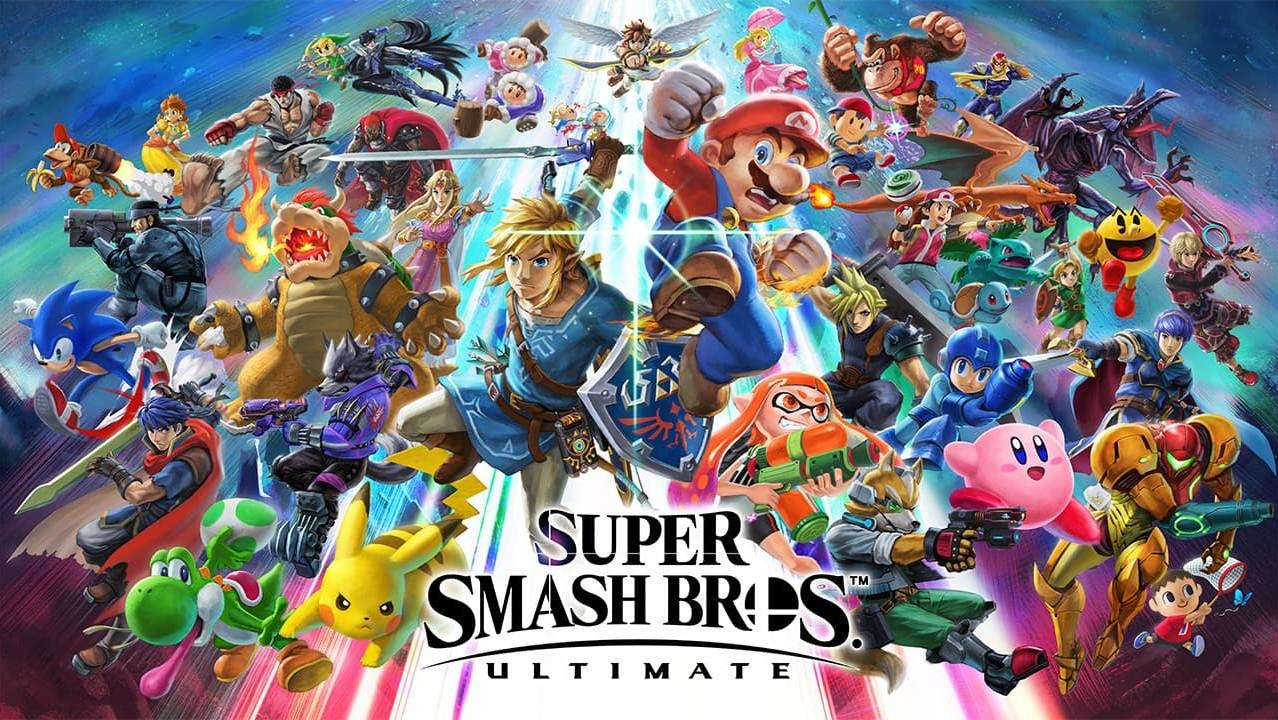 Nintendo Switch: Super Smash Bros. Ultimate, Mario Party & Fortnite