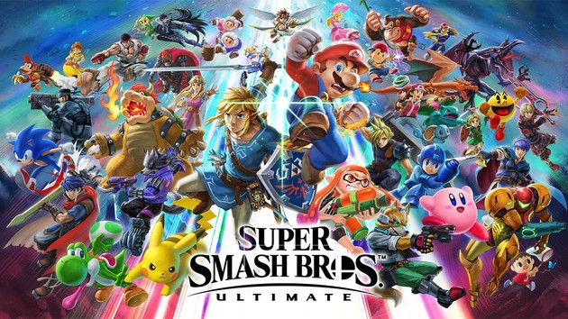 Nintendo Switch: Super Smash Bros. Ultimate, Mario Party & Fortnite