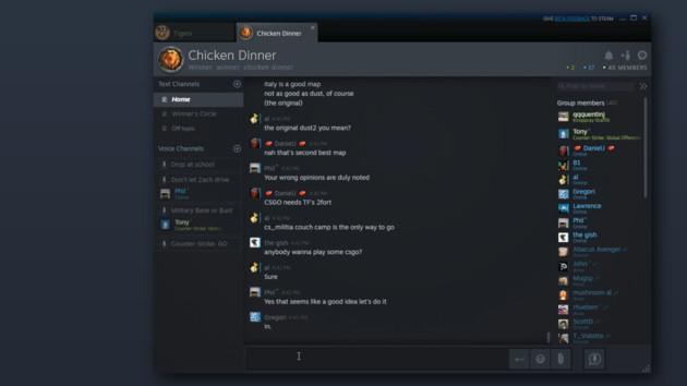 Steam Client Beta: Valve zielt auf Discord und verabschiedet Vista & XP