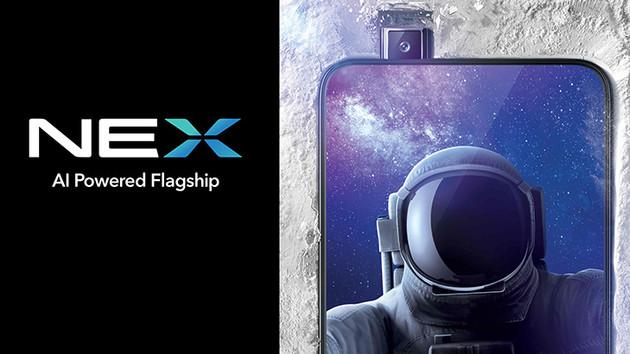 Vivo NEX: Display-Fingerabdrucksensor und rahmenloses Design
